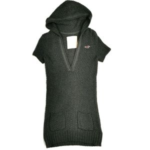 Hollister Short Sleeved Knit Sweater Dress Small
